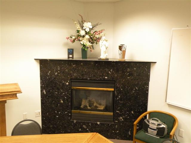 Fireplace in Meeting Room